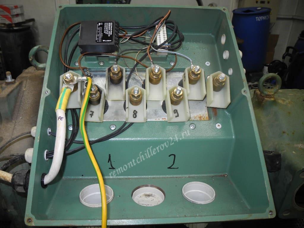 Дефектация компрессора в сервисном центре «РемонтЧиллеров-24»